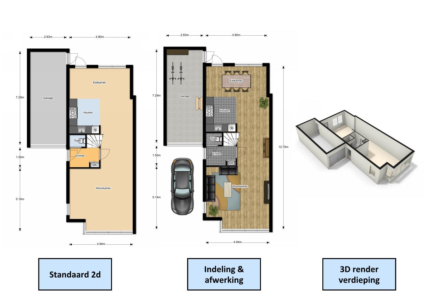 Floorplanner funda tekening